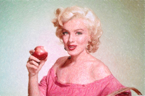Marilyn Monroe par Colorfarma